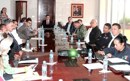 """PRESENTAN AL GOBERNADOR ESTRATEGIA DE SEGURIDAD PARA EL CONGRESO NACIONAL CHARRO """"ZACATECAS 2012"""""""