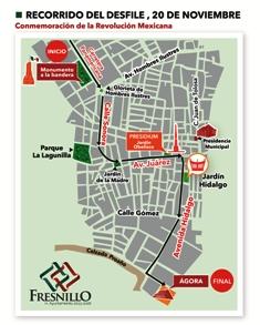 Prepara Gobierno Municipal desfile del 20 de Noviembre