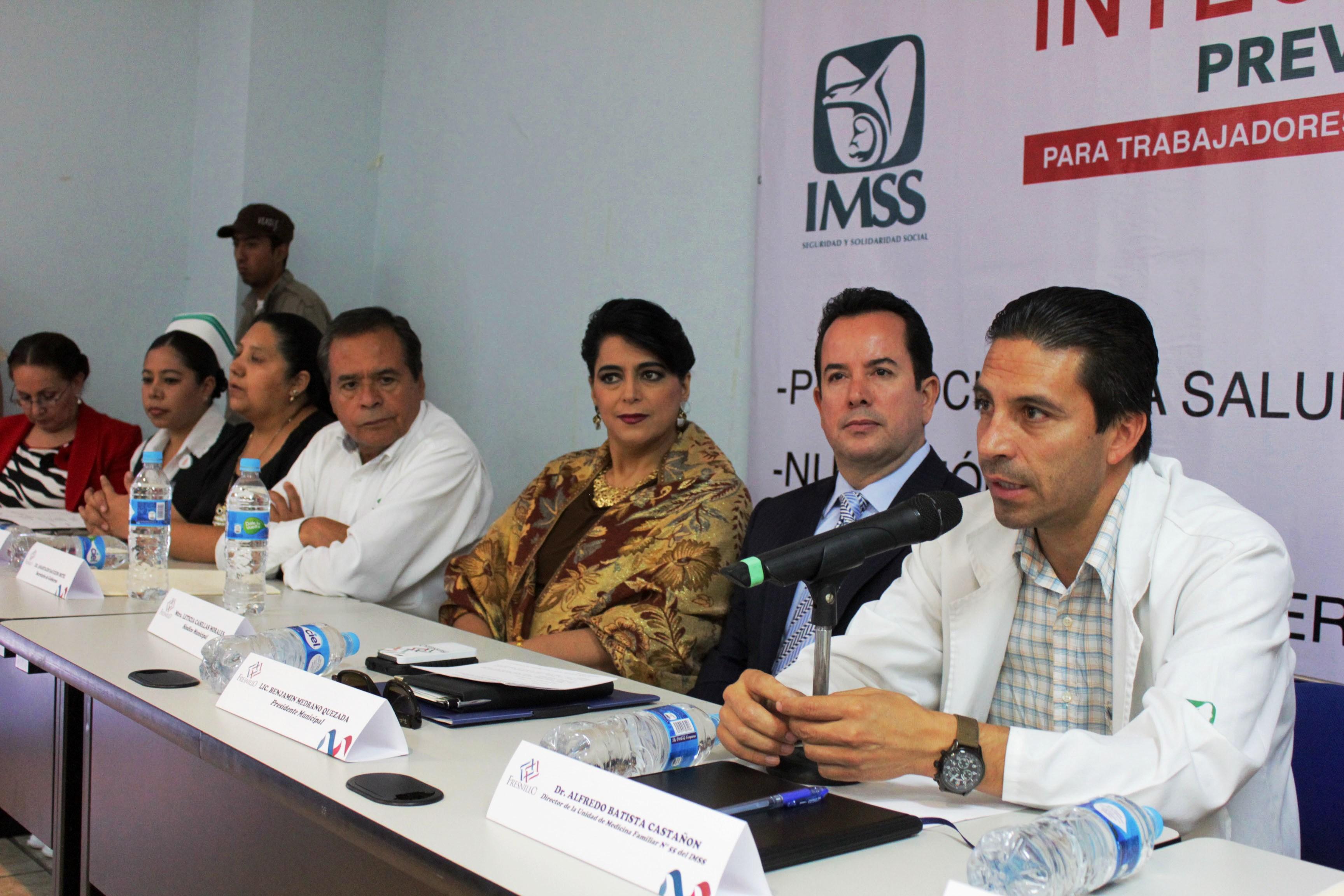 IMPARTEN ATENCIÓN PREVENTIVA INTEGRAL DE PREVENIMSS A TRABAJADORES DEL AYUNTAMIENTO