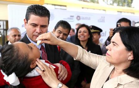 INICIA MIGUEL ALONSO SEGUNDA SEMANA NACIONAL DE VACUNACIÓN