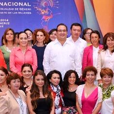 PARTICIPA ZACATECAS EN ENCUENTRO NACIONAL DE LEGISLADORAS Y TITULARES DE LAS MUJERES EN LOS ESTADOS