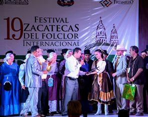 Concluye Festival del Folclor Internacional sede Fresnillo