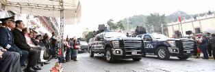 PRESIDE GOBERNADOR DESFILE CONMEMORATIVO DEL 204 ANIVERSARIO DE LA INDEPENDENCIA DE MÉXICO
