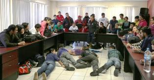 IMPARTE PROTECCIÓN CIVIL A UNIVERSITARIOS CURSO DE PRIMEROS AUXILIOS, COMBATE DE INCENDIOS Y BÚSQUEDA Y RESCATE