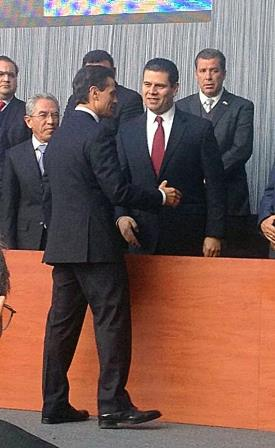 RESPALDA GOBERNADOR A EPN EN SU PROPUESTA DE LOGRAR UN MÉXICO EN PAZ CON JUSTICIA Y UNIDAD