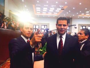 RESPALDA GOBERNADOR A EPN EN SU PROPUESTA DE MANDO ÚNICO