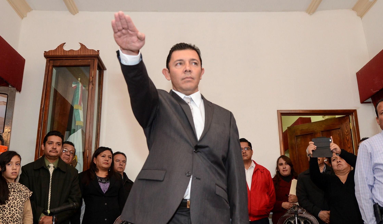 Toma protesta como Alcalde Gilberto Dévora Hernández