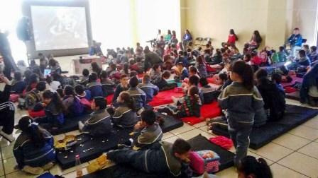 FESTEJAN A LOS NIÑOS EN EL FESTIVAL DE LA MUERTE DE FRESNILLO