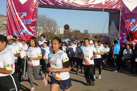 Más de 2 mil Fresnillenses corren por su salud