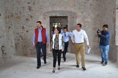 SUPERVISAN OBRAS CONCRETADAS EN FRESNILLO  CON RECURSOS PROVENIENTES DEL FONDO MINERO
