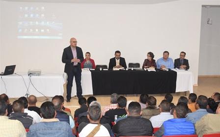 SE REÚNE FISCAL GENERAL DE JUSTICIA CON COMANDANTES DE LA POLICÍA MINISTERIAL