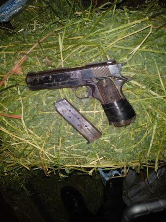 DETIENE PEP Y POLICÍA MUNICIPAL EN GUADALUPE A UN HOMBRE POR PORTAR UN ARMA DE FUEGO