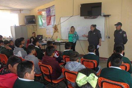 INTERVIENEN CON PREVENCIÓN SOCIAL INSTITUCIONES EDUCATIVAS DE COLONIA MORELOS