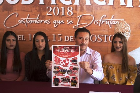 PRESENTACION FERIA SUSTICACÁN 2018
