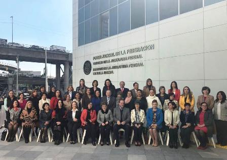 RECONOCEN ACCIONES DEL TSJEZ EN LA IMPARTICIÓN DE JUSTICIA CON EQUIDAD DE GÉNERO