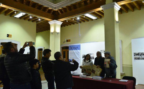 Inauguran la exposición Javier Vallejo Coronel. 30 años de periodismo gráfico