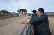 APOYARÁ SAÚL MONREAL A MIGRANTES EN RECONSTRUCCIÓN DEL LIENZO CHARRO DEL REFUGIO DE ÁBREGO