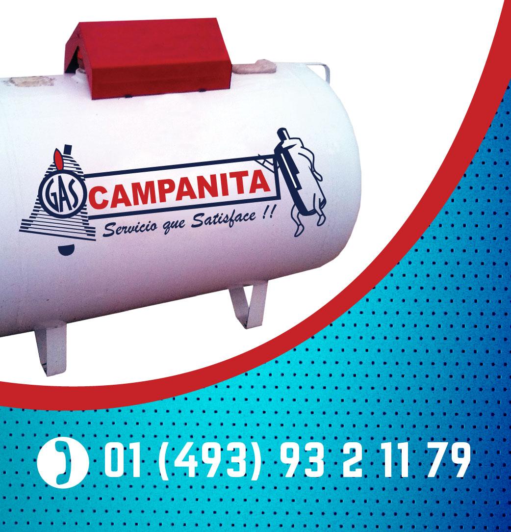 GAS CAMPANITA