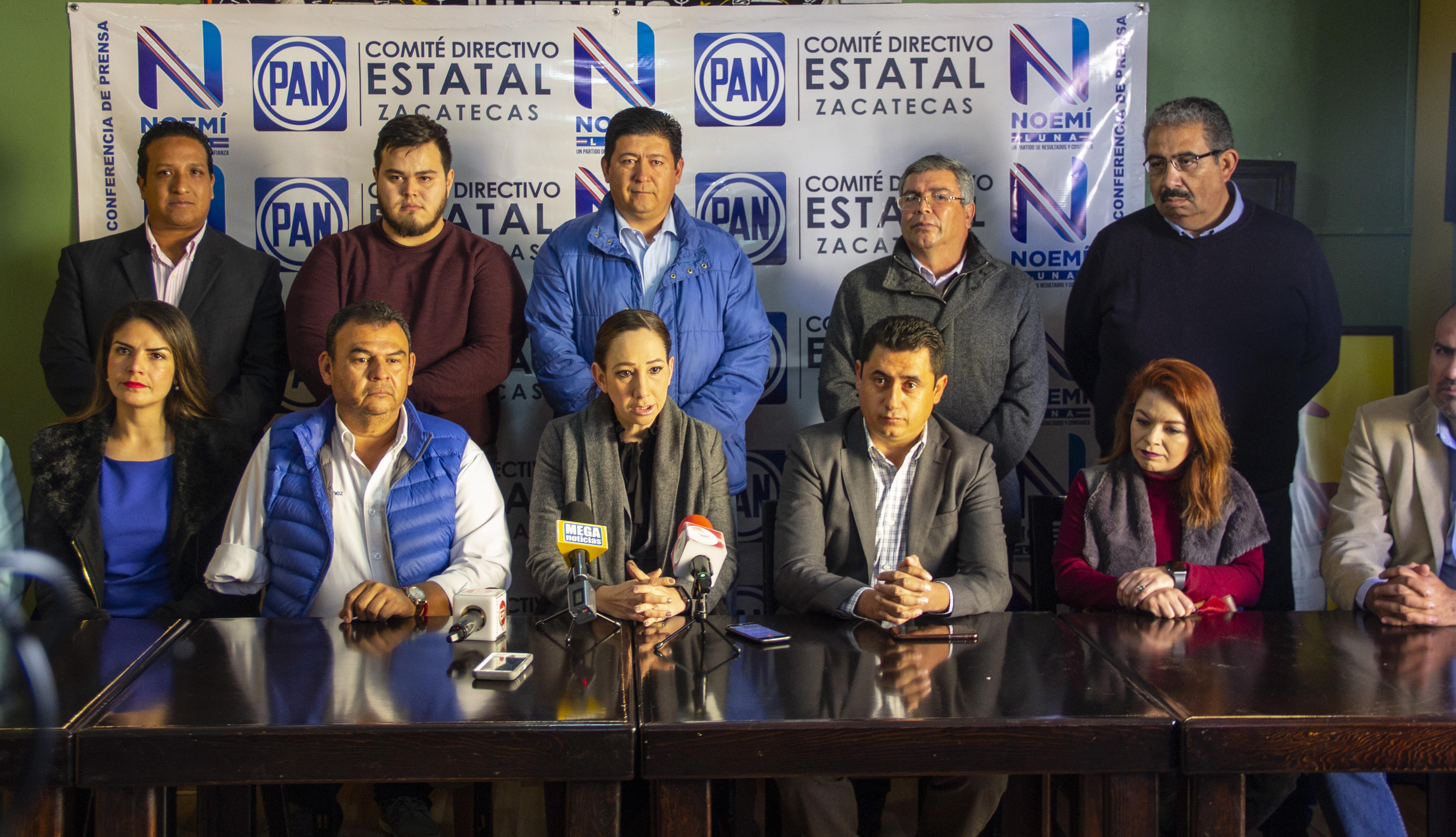 Ratifica el CEN del PAN a Noemi Luna como presidenta del comité estatal
