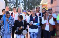 """COMPITIERON 120 ATLETAS EN LA CARRERA CON CAUSA """"POR LA VISTA DE EZEQUIEL"""""""
