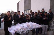 ENTREGAN MATERIAL Y EQUIPO PARA PESCADORES DE FRESNILLO