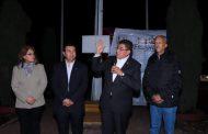 ENCIENDE ALCALDE MODERNAS LUMINARIAS EN AVENIDA HUICOT