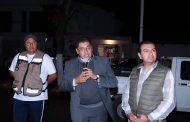 ENTREGA SAÚL MONREAL PROYECTO DE ALUMBRADO PÚBLICO EN AVENIDA HOMBRES ILUSTRES