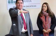 Rinde Protesta Enrique Pérez Compeán, como titular de la oficina de Representación, de la Procuraduría Agraria en Zacatecas