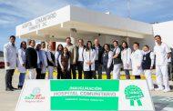 SOMBRERETE YA TIENE NUEVO HOSPITAL COMUNITARIO; GOBERNADOR TELLO LO INAUGURÓ