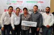 CUMPLE GOBIERNO DE ZACATECAS CON PROGRAMA DE EMPLEO TEMPORAL EN TLALTENANGO, CALERA Y TABASCO
