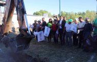 ARRANCA CONSTRUCCIÓN DE PABELLÓN POLIDEPORTIVO EN EL PARQUE DE LA LAGUNILLA