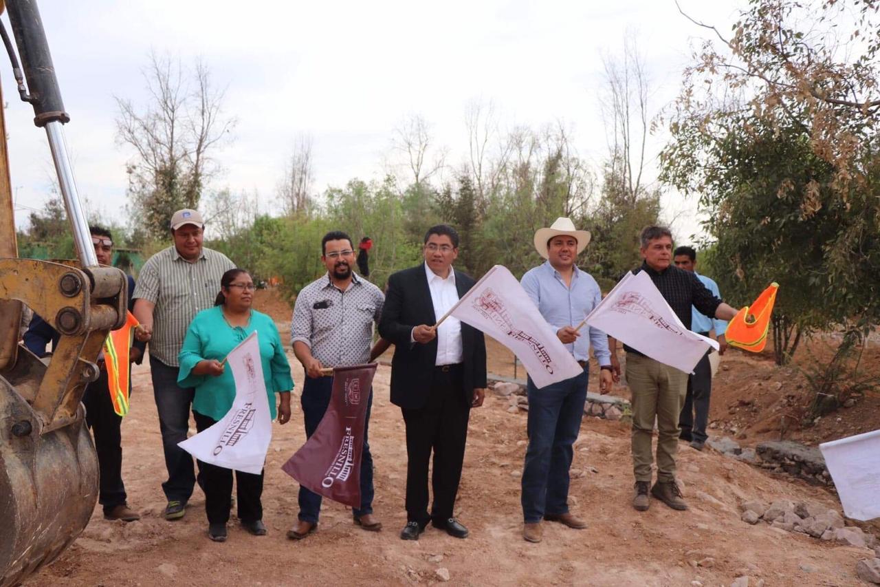 COMIENZA CONSTRUCCIÓN DE PLAZA EN SAN PABLO DE RANCHO GRANDE