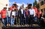 ARRANCA GOBERNADOR TELLO PROGRAMA DE PAVIMENTACIÓN EN MÁS DE 100 CALLES DE ZACATECAS Y GUADALUPE
