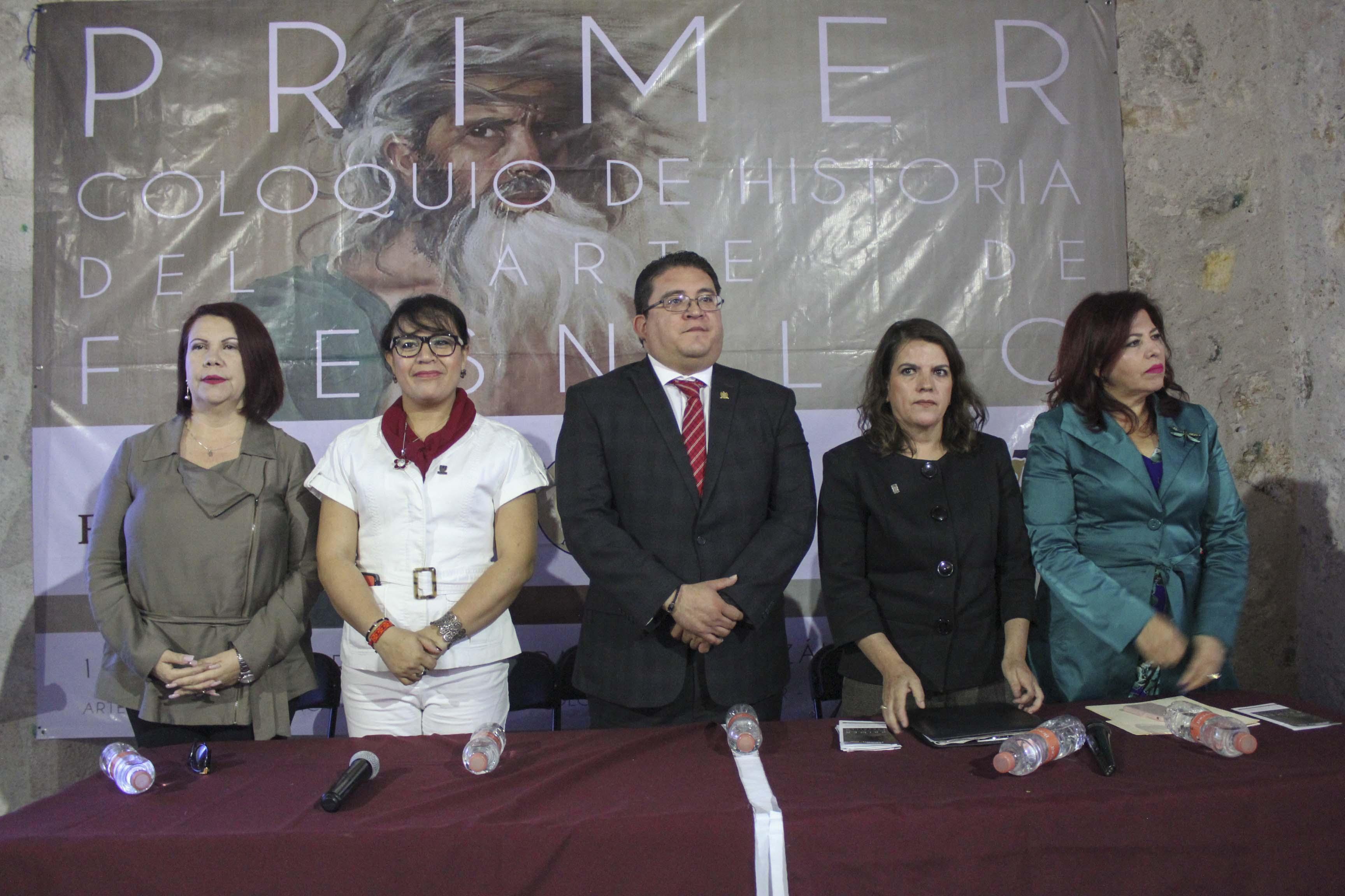 INAUGURAN PRIMER COLOQUIO DE HISTORIA DEL ARTE DE FRESNILLO