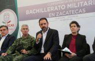 """GOBERNADOR DA A CONOCER BACHILLERATO MILITARIZADO """"GENERAL PÁNFILO NATERA"""""""