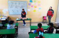 ACERCA GOBIERNO ESTATAL LA PROTECCIÓN CIVIL A ESTUDIANTES DE PRIMARIAS