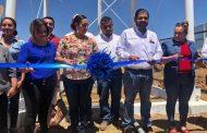 CUMPLE GOBIERNO ESTATAL AL FORTALECER LOS SERVICIOS BÁSICOS EN LOS MUNICIPIOS DEL SUR
