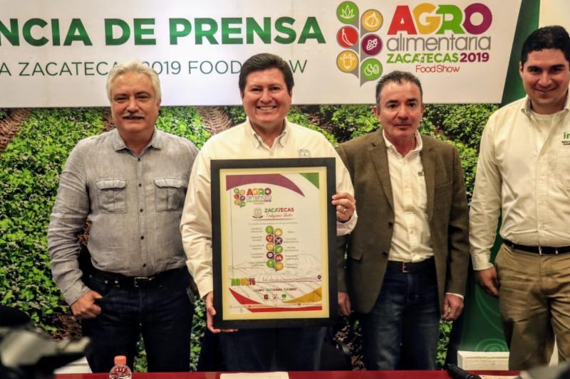 MOSTRARÁ ZACATECAS SU LIDERAZGO EN EL CAMPO EN LA EXPO AGROALIMENTARIA 2019