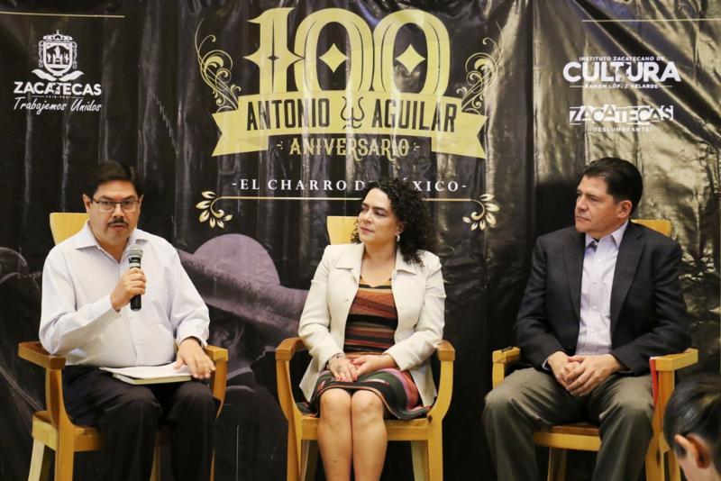 RENDIRÁ ZACATECAS HOMENAJE A ANTONIO AGUILAR EN EL CENTENARIO DE SU NACIMIENTO