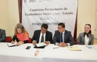 FIRMA EL ALCALDE SAÚL MONREAL CONVENIO DE COLABORACIÓN CON LA FUNCIÓN PÚBLICA