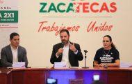 PRESENTAN PROGRAMA 2X1, QUE BUSCA CONTINUAR EL  DESARROLLO DE LAS COMUNIDADES CON VOCACIÓN MIGRATORIA