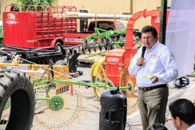 ACUERDAN GOBIERNOS ESTATAL Y FEDERAL CONVENIO PARA EL DESARROLLO SUSTENTABLE DEL CAMPO 2019