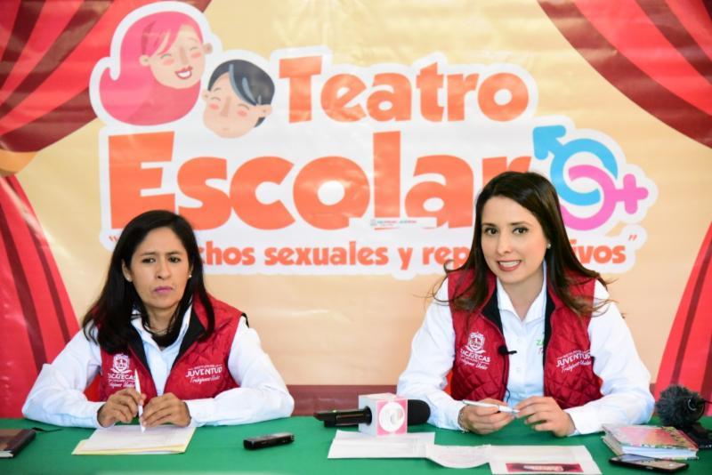 CONVOCA INJUVENTUD A PREVENIR EMBARAZO ADOLESCENTE CON TEATRO ESCOLAR