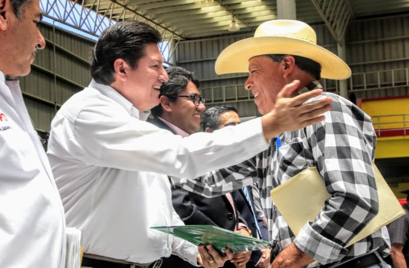 GOBIERNO Y PRODUCTORES TRABAJAN UNIDOS PARA FORMAR BOLSA DE 350 MDP EN BENEFICIO DEL CAMPO