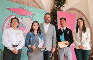 RECIBEN 105 ESTUDIANTES RECONOCIMIENTO A LA EXCELENCIA POR OBTENER LOS MEJORES PROMEDIOS DE ZACATECAS