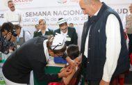 APLICARÁN EN ZACATECAS MÁS DE 16 MIL DOSIS DE VACUNA CONTRA EL VIRUS DEL PAPILOMA HUMANO