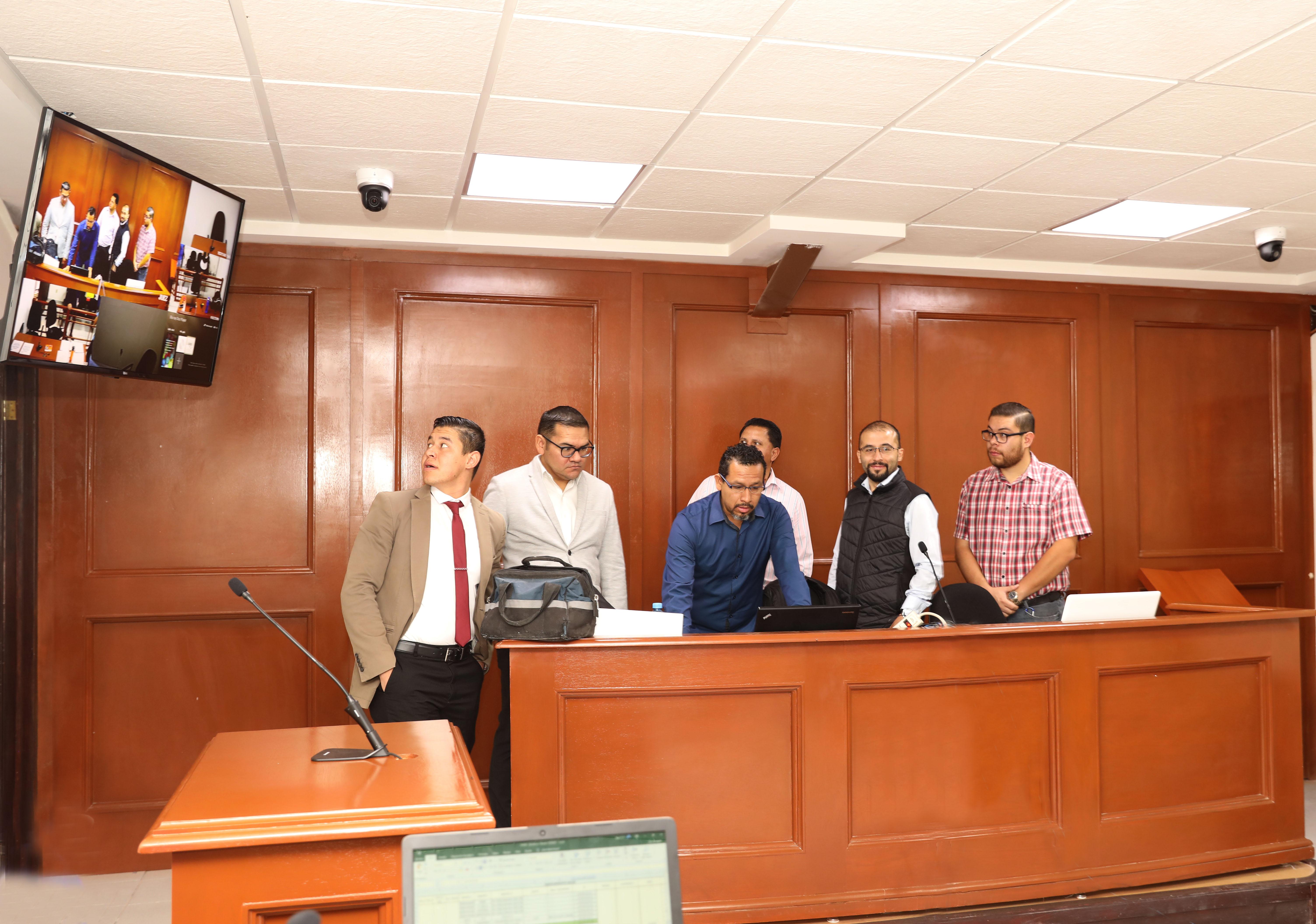 PODER JUDICIAL DEL ESTADO RECIBE DONACIÓN DE EQUIPO TECNOLÓGICO  PARA SALAS DE JUICIO ORAL