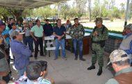 AFICIONADOS PRACTICAN TIRO AL BLANCO EN LOS JALES