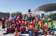 Mejoran condiciones del Preescolar  Sor Juana Inés de la Cruz de la Comunidad de los Ángeles de los Medrano, en Fresnillo.