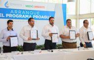 ARRANCA PROGRAMA PROAGUA PARA REALIZAR 51 ACCIONES EN BENEFICIO DE 24 MUNICIPIOS